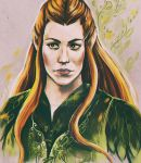 Tauriel by AndreevaPolina