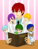 Story time with Akashi by chacocat