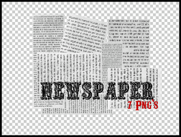 7 Png's Newspaper by Discopada