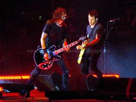 foo fighters. by running-through-hell