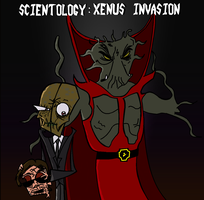 Scientology: Xenu's Invasion by Bladez636