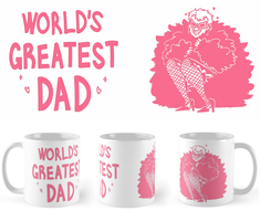 WORLD'S GREATEST DAD MUGS by Deer-Head