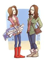Darcy and Jane by martinacecilia