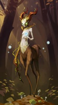 Dryad by Saindoo