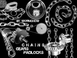 chain-lock-gear-wormchow by Wormchow