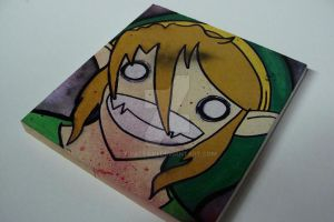 Link Custom Painting by PirateKiki