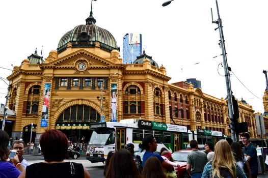 Flinders street Station by MCL1982
