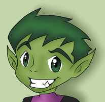 Beast Boy_9 by BeastGreen