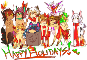 Happy Holidaaaaays by xMits