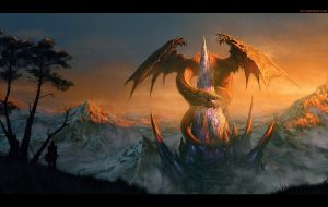 DRAGON CASTLE by randis