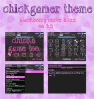 ChickGamer Blackberry Theme by Kiwiiixo