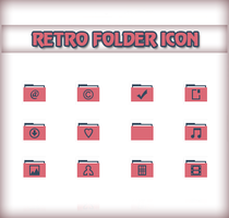 Reto Folder Icon by Cleodesktop