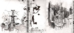 .::NYC sketching::. by GIO2286
