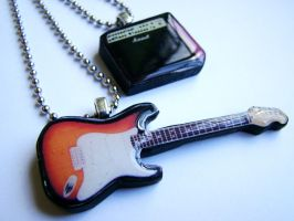 fender and marshall by luckymarias