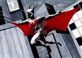 Batman Beyond by MichaelLinkJr