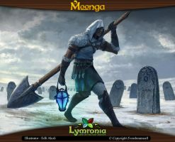 Moonga - Gravedigger of White Death by moonga