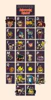 Videogame Alphabet by Angerfish