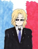 [APH] France by Ham-shi