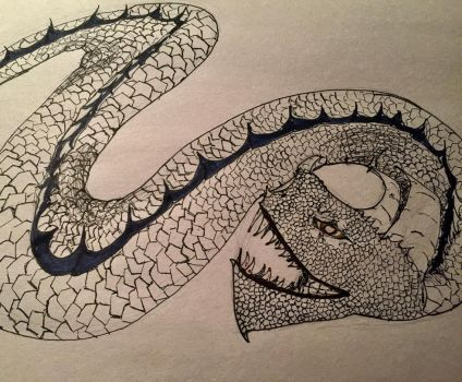 The Serpent  by FreeFlowbyJillian
