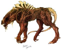 Bevira Hound Concept COLORED by CosmicVirus