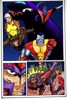 The Xmen pg4 by amydrewthat