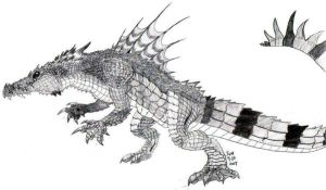 KING CROC 2007 by invaderTRIPP666