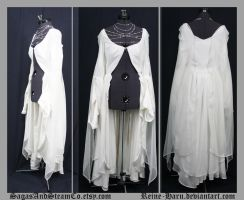 White Relaxed Lolita Coat by Reine-Haru