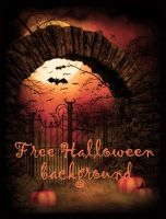 Halloween FREE BACKGROUND by KlaraKay