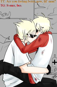 Dave n Dirk Strider by Timeless-Knight