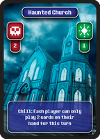 Final Boss: Church Stage Card by kebuenowilly