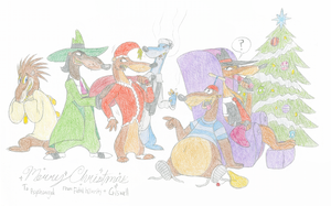 A Weaselly Christmas by tymime
