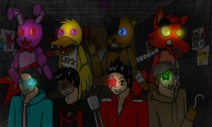 Five Nights of Youtube by Animator-2B
