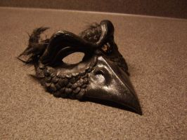 Raven Mask by Redbeardedviking