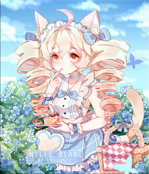 WILLE BLANC [COMMISSION HALFBODY + BG DETAILS] by Lilianei