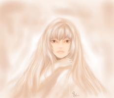 Lady In Soft  Pink1 by thepurpleorchid1