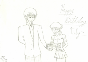 Late birthday to Valy-chan by bigred767