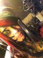 In the studio With Dahvie by morgsunnyluv