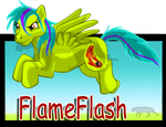 FlameFlash1 by DracKeagan