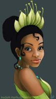 Princess Tiana by madam-marla