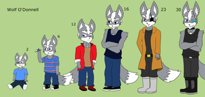 Wolf - Age Chart by Foxsion