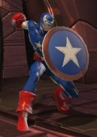 Captain America (DC Universe Online) by comix-fan