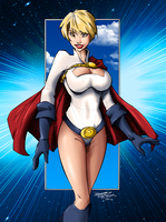Power Girl by tekitsune