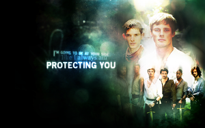 merlinXarthur wallpaper 3 by inacloudyday