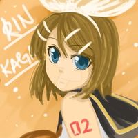 Painting Practice - Rin by Na-Nami