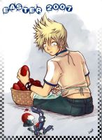 Roxas::Easter by a3107