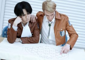 The Plan - Levi + Erwin by jettyguy