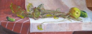 Still life with dill by Luzblanca