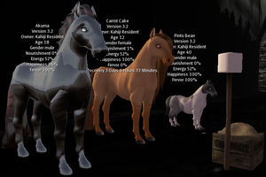 SL - My Horses by MEWillow
