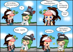 Pokemon Black and White Comic: Name by purplemagechan