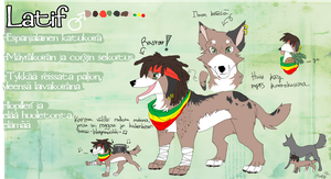 Latif - ref.sheet by theMuffyz